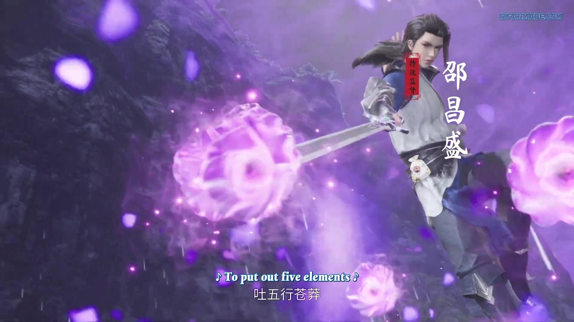 Jueshi Wuhun - Peerless Martial Spirit ( chinese anime donghua ) episode 74 english sub