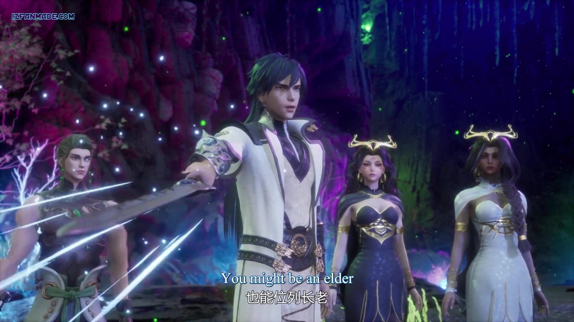 Ling Jian Zun - Spirit Sword Sovereign ( chinese anime donghua ) Episode 185 english sub (1)