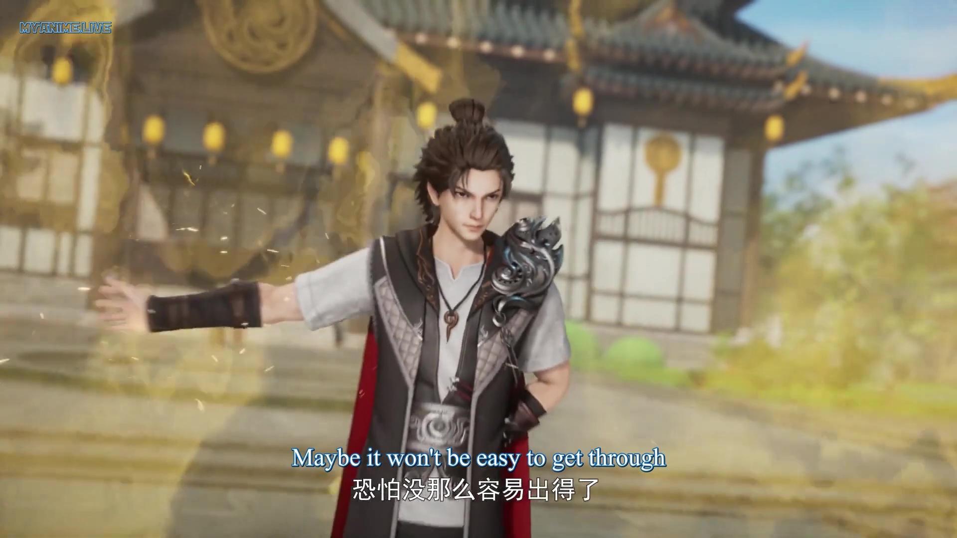 Wan Jie Shen Zhu - Lord of The Universe episode 146 english sub
