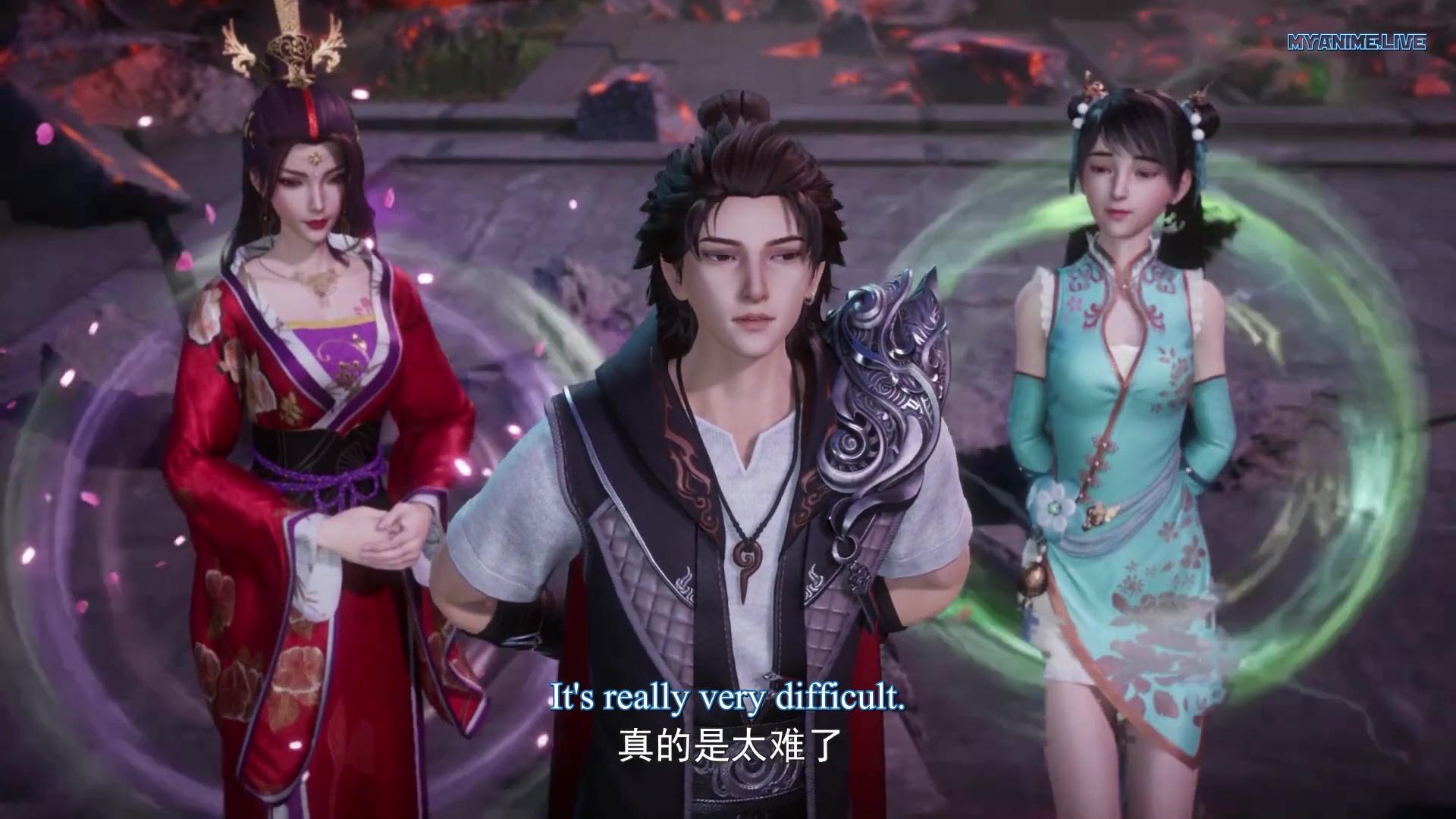 Wan Jie Shen Zhu - Lord of The Universe episode 160 english sub