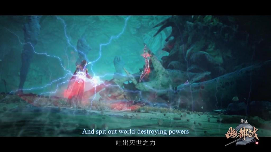 Mu Wang Zhi Wang You Du Zhan - Great King of the Grave Season 4 episode 25 ( episode 86 ) english sub