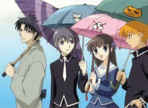 tohru, kyo, shigure & yuki