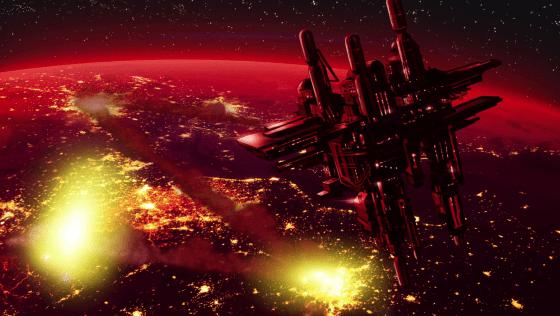 Flaxan_Planet_space_station_destroyded_by_Omni_Man