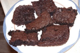 Moist and Dark Brownies