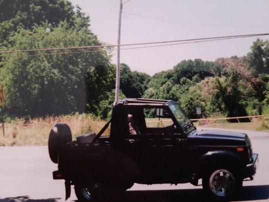 My car #2 - Suzuki Samurai