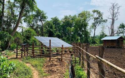 Solar Water Pumps Completed in Shan State