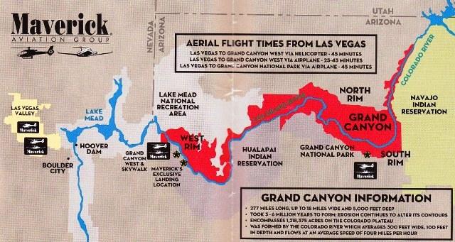 16 Las Vegas ကေန Grand Canyon ရဲ႕ West Rim ကို ရဟတ္ယာဥ္ ႏွင္႕ သြားၾကည္႕မွာပါ ။
