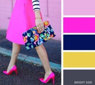 A cheerful fuchsia color
