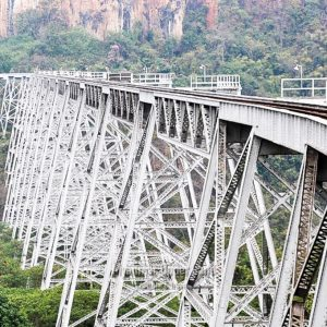 Gokehteik Viaduct,Northern Shan State
