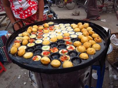 Pancake Balls Myanmar