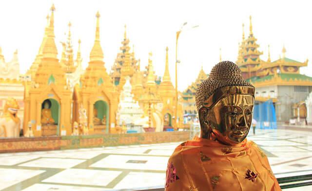 Yangon-Pagoda