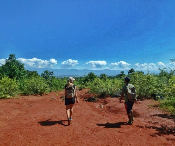 On the way of trekking from Kalaw to Inle 10