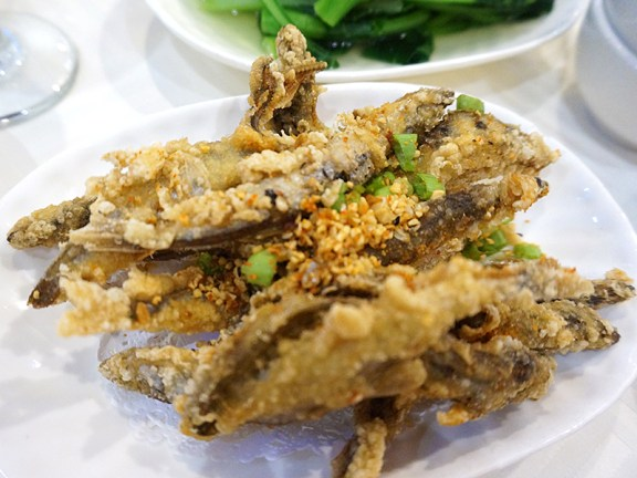 Sea Harbour: Deep Fried Smelt in Spicy Salt and Pepper