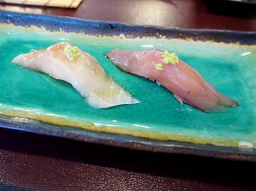 Kiyokawa: Inada (Baby Yellowtail) and Kanpachi (Amberjack)