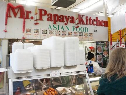 Next up, Mr. Papaya Kitchen...