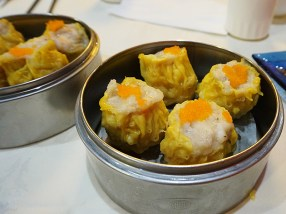 Just excellent shrimp and pork shumai---I can't recall eating better.