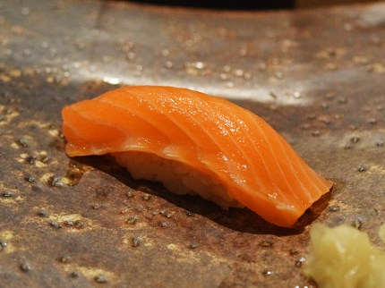 This ocean trout was from Tasmania and was excellent.