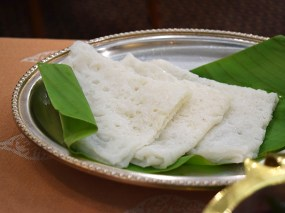 But the soft, handkerchief-like neer dosas were good too.