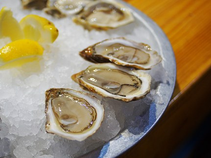 Southwest Sensations; another PEI oyster. Much brinier.