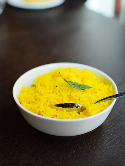 Quilon: Lemon Rice
