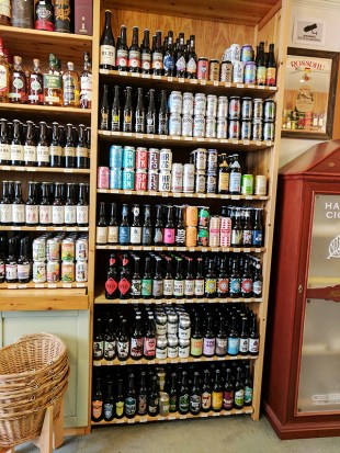As is the beer. I didn't look closely at the beer selection---I'm not sure if there's a particular focus.