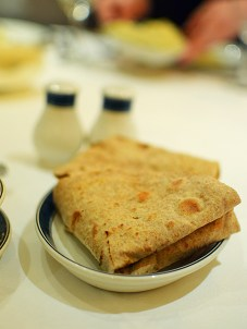 The chapatis---served in lieu of the Malabar parathas---were decent.