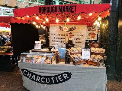 Borough Market: Charcuterie