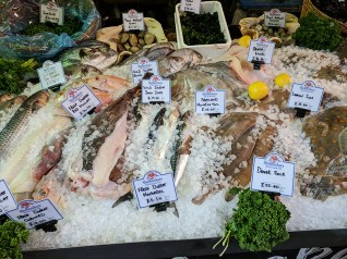 Borough Market: Fish at Shell Seekers