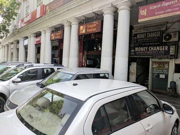 Sagar Ratna is located in Connaught Place's outer circle.
