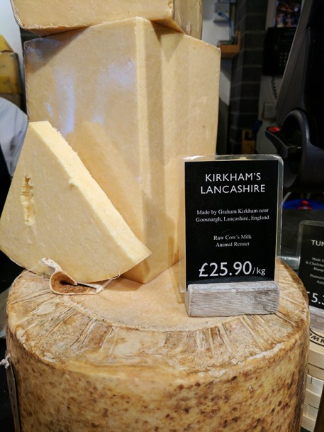 Neal's Yard Dairy, Covent Garden: Kirkham's Lancashire