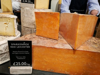 Neal's Yard Dairy, Covent Garden: Red Leicester