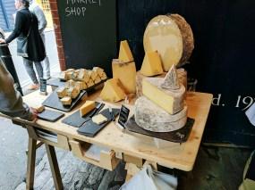Neal's Yard Dairy, Borough Market: Samples