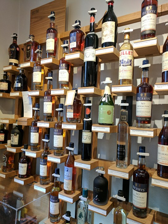 A decent collection of rums including a number of their own bottlings.