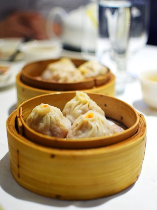 Much better than the mini soup dumplings on offer in even the better places in the SGV at dim sum.