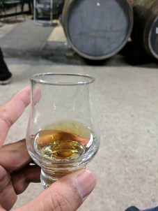 This was the one I was called on to draw out of the cask.