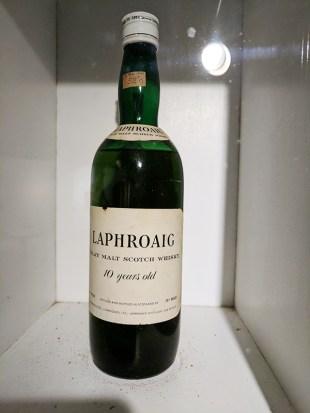 Laphroaig: A young whisky bottled long ago