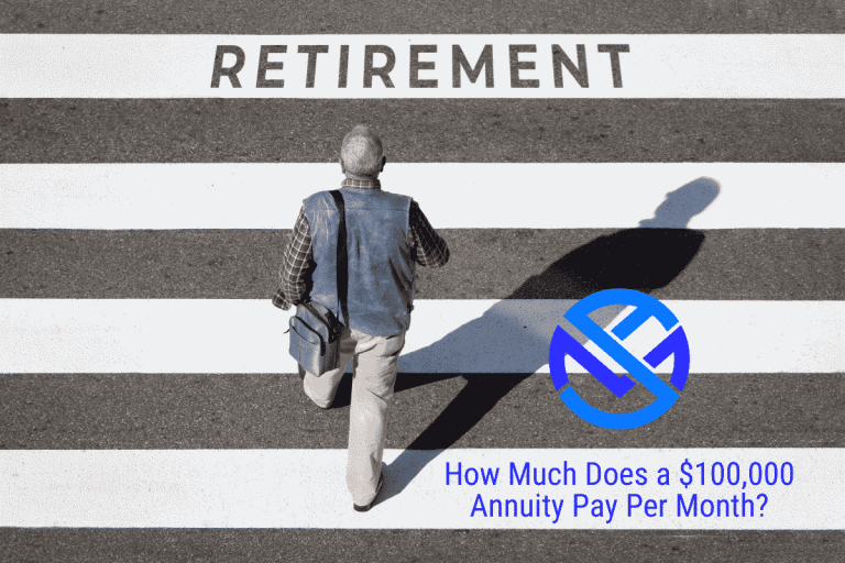 How much does a $100,000 annuity pay per month