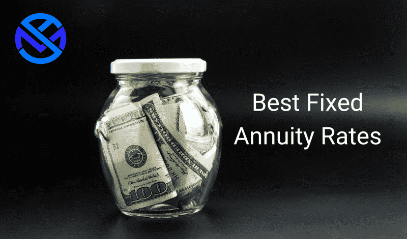 Best fixed annuity rates with coins in glass jar. 2