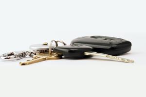 car keys with fob