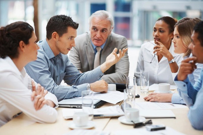 "Whether you're the ""old guy"" at #work or working with a bunch of older employees, you can all learn to get along and do great things. Read our tips for how to handle a mixed #workplace!"