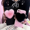 Luxury 3D Cartoon Love Heart case for iPhone