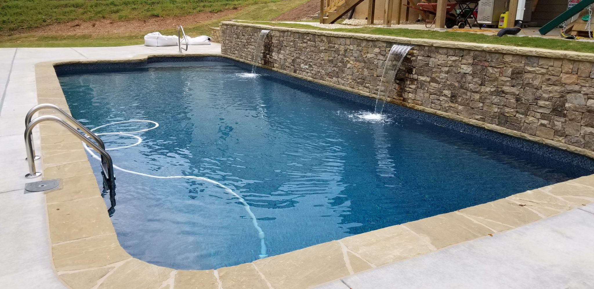 Custom Inground Swimming Pool Builder Canton Ga