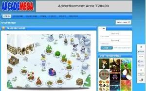 WordPress Arcade Theme: ArcadeMega