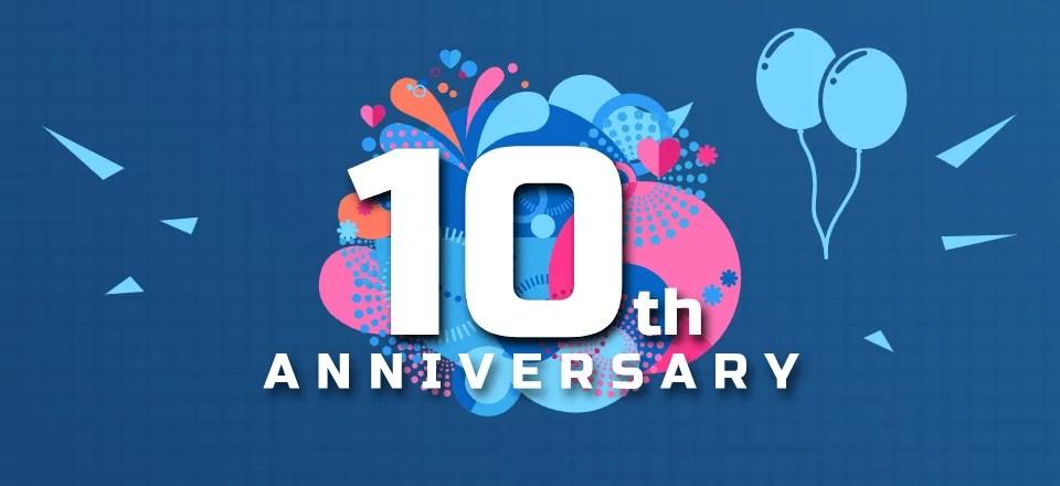 Celebrating 10 Amazing Years of MyArcade