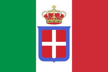 Bandiera di Stato Regno d'Italia