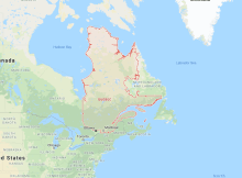 581 Area Code Map