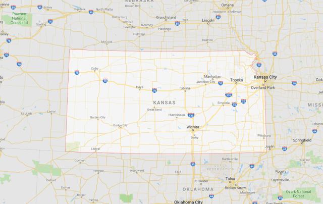 Area Code 316 Kansa Map