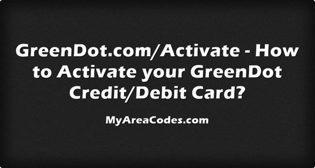 Greendot.com/activate - Green Dot Card Activation