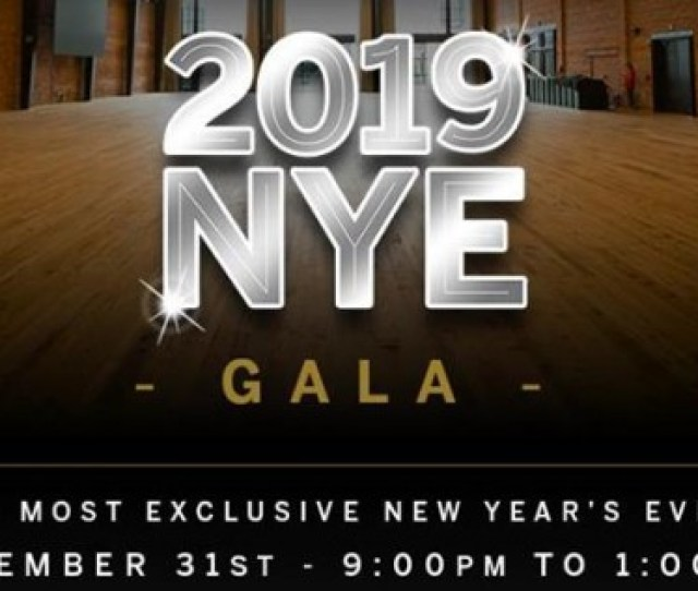 New Years Eve Gala 2019 At Armature Works