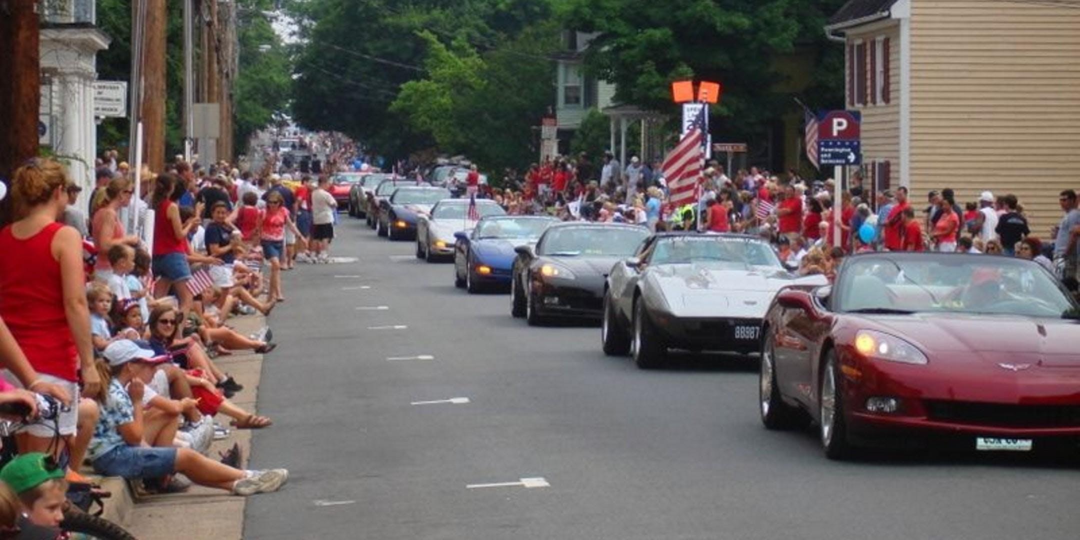 July 4 Parade Of Corvettes Northern Virginia Va